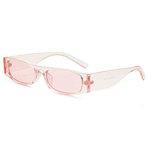 YLNJYJ Kleine Quadratische Frauen-Sonnenbrille Eyewear-Weinlese-Mode Google Eyeglasses-Mann-Sonnenbrille-Marken-Schatten Oculos