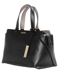 Calvin Klein Julia Sac à main cuir 31cm Black