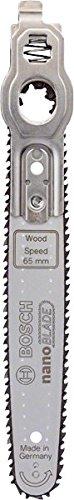 Bosch Sägeblatt Wood Speed 65 (mit NanoBlade Technologie für EasyCut 12, 50 und AdvancedCut 50)