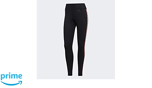 adidas Damen W Bb Tight Farm Netze, schwarzweiß, 2XL
