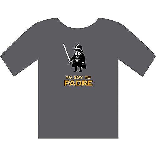 dia del orgullo friki YO SOY TU PADRE - camiseta - STAR WARS - darth vader - GAMBA TARONJA