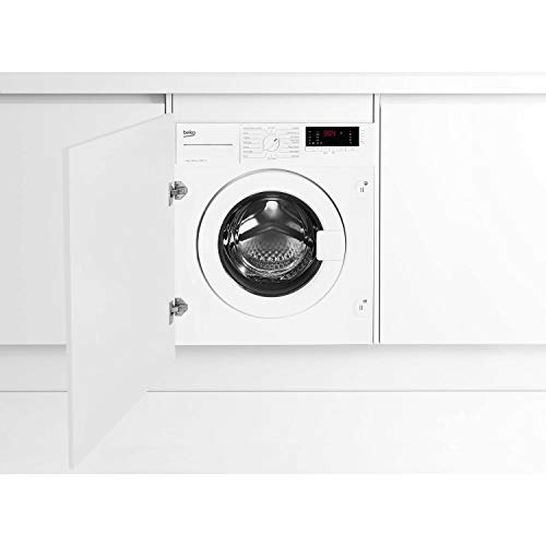 Beko WIY72545 Ultra Efficient 7kg 1200rpm Integrated Washing Machine - White