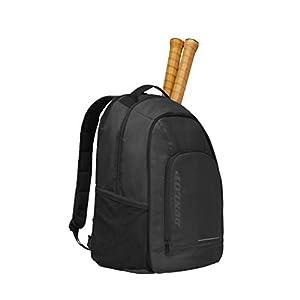 Dunlop D TAC CX Team Backpack BLK – Mochila de Tenis para Adulto, Unisex, Color Negro, Talla única