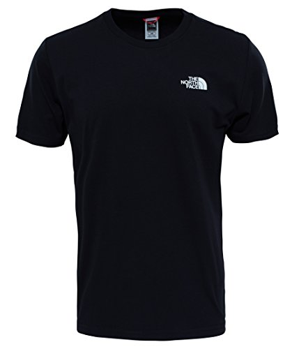 The North Face M SS Redbox CEL TEE SHIRT, HERREN, Tnf Black, XXL - Air Force Langarm-t-shirt