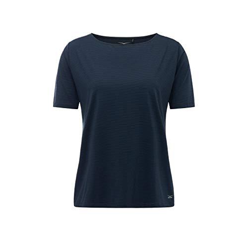 Venice Beach Damen T-Shirt Fina Curvy Fit DSHST 41073 Blueberry 46 (Fit Damen Beach T-shirt)
