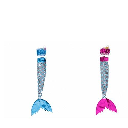 Baosity 2 Sets Mode Puppen Meerjungfrau Kleidung Rock + Top Outfit Für Barbie Puppe