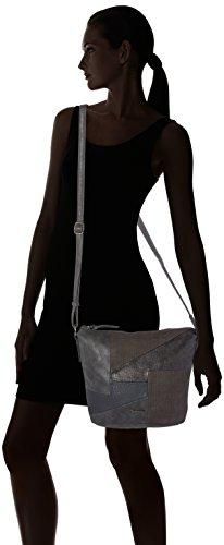Tamaris - Bimba Crossbody Bag, Borse a tracolla Donna Grigio (Graphite Comb.)