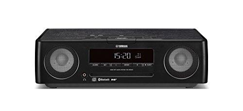 Yamaha TSX-B235D Sistema Audio per Desktop di Design con Pannello Superiore in Legno, Nero