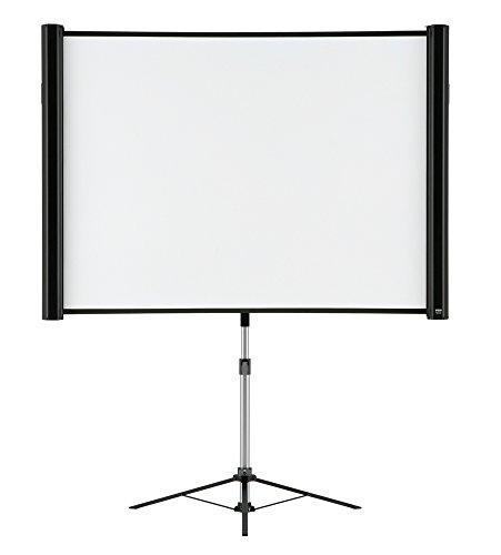 "Epson Pantalla de 80"" multiaspecto - ELPSC26 - Pantalla para proyector (Manual, 2,03 m (80""), 16:9, Negro, Blanco)"