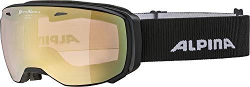 ALPINA Erwachsene Estetica QVMM Skibrille, Black matt, One Size