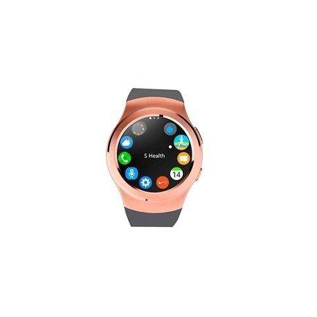 Swiss-pro - Reloj inteligente vernier smartwatch dorado oro bt 4.0 / tarjeta sim/ pulsometro/ podometro