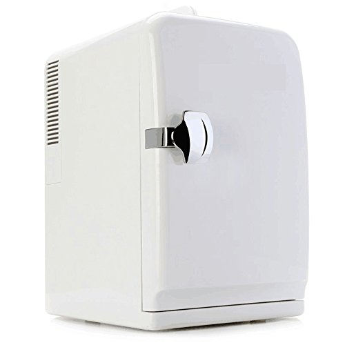 SL&BX Mini kühlschrank,Auto und nach hause schlafsaal büro 15l kompakt-kühlschränke brust milch kosmetik und kalten aufbewahrungsbox-Weiß - Mit Gefrierfach Brust, Kühlschrank
