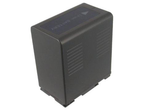 CS-PVD54S Akku 5400mAh Kompatibel mit [PANASONIC] AG-DVC180A, AG-DVC30, AG-DVC30E, AG-DVC32, AG-DVC33, AG-DVC60, AG-DVC60E, AG-DVC62, AG-DVC63, AG-DVC80, AG-DVX100, AG-DVX100A, AG-DVX100AE, AG-DVX100 -