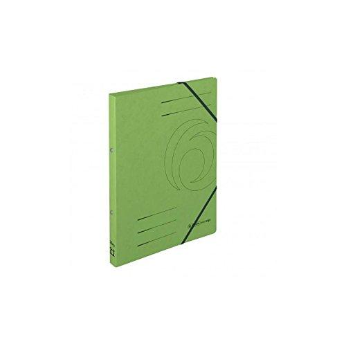 Ringhefter A4 Colorspan grün 2 Ring-Mechanik 5er-Pack