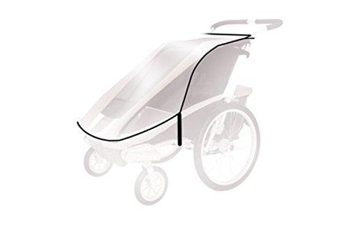 Thule Baby für für Chariot Cougar 2, Cx2 Spritzschutz, transparent, One Size - Chariot Kinderwagen Thule