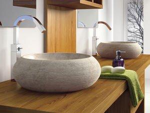 Bathco – Lavabo Bathco Sobre Encimera Piedra Fiji Beige 450X150
