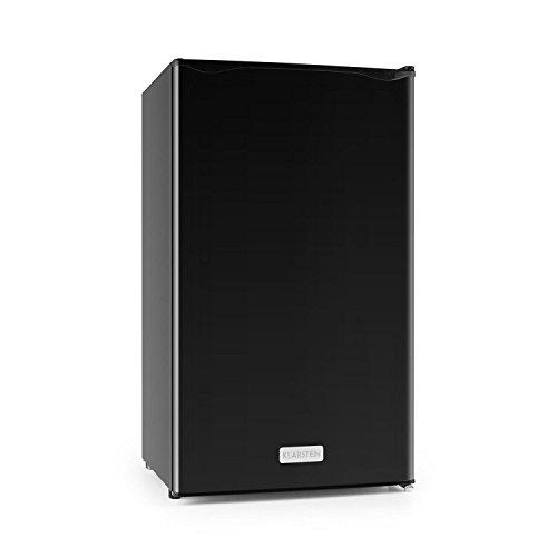 Klarstein Springfield - réfrigérateur, réfrigérateur à boissons, capacité 112 litres, température de refroidissement entre 0 et 10 °C, Puissance consommée 60 watts, 3 niveaux, noir