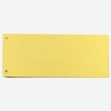 Falken Trennstreifen 105x240 mm, Farbe gelb, 100er Pack