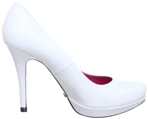 Buffalo 9669 177 Bl, Escarpins femme Blanc (Mestizo White)