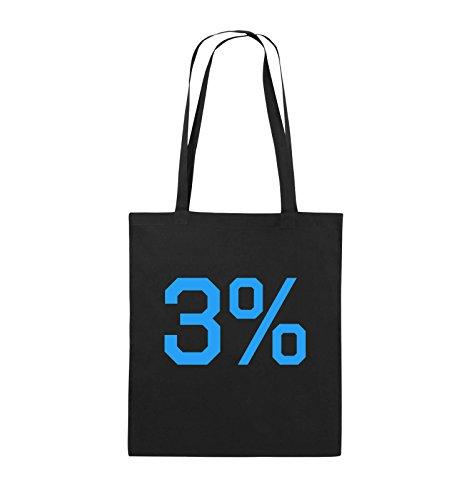 4f732e1c90e3b Comedy Bags 3 LOGO Jutebeutel lange Henkel 38x42cm Farbe Schwarz   Pink  Schwarz   Blau