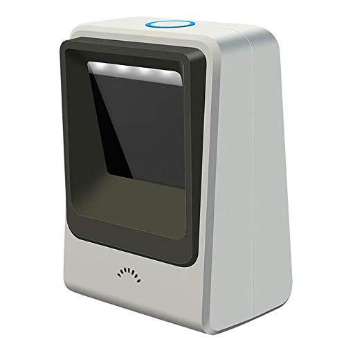 USB con Cable de código de Barras 2D escáner omnidireccional de Pantalla sin Manos del Lector de código...