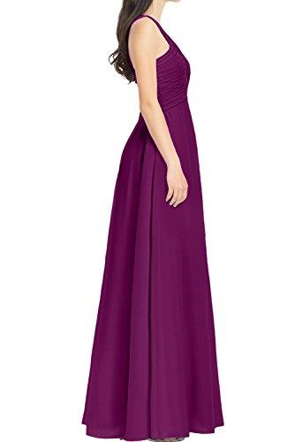 Ivydressing -  Vestito  - linea ad a - Donna uva