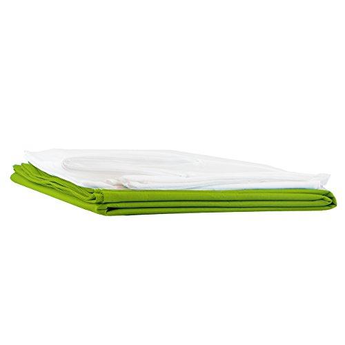 Lumaland Luxury Riesensitzsack XXL Sitzsack Außenbezug 140 x 180 cm Indoor Outdoor Grün