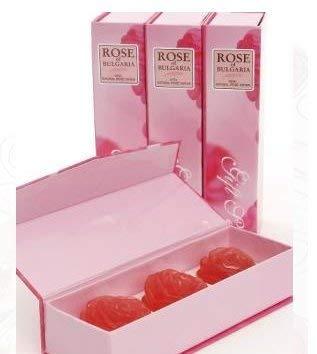 Schöne Seife (3 X schöne Handgemacht Seife mit Rosenöl und Glycerin)