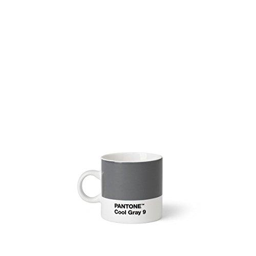 Pantone Espressotasse, Porzellan, Cool Gray 9, 6.1 x 6.1 x 8.2 cm