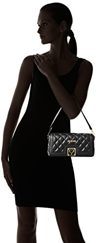 Love Moschino JC4003, Clutch Femmes, 5x14x28 cm Noir (Black)