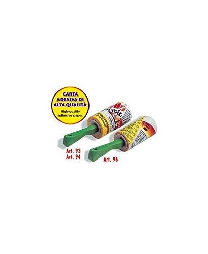Home 93 pulirella spazzola adesiva, 10 mt