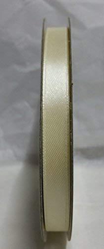 Nastro avorio doppio raso h 10mm 50mt