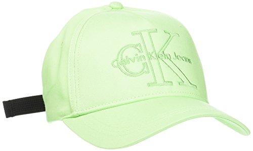 Calvin Klein Unisex J RE-Issue Baseball Cap, Grün (Green Ash 306), One Size