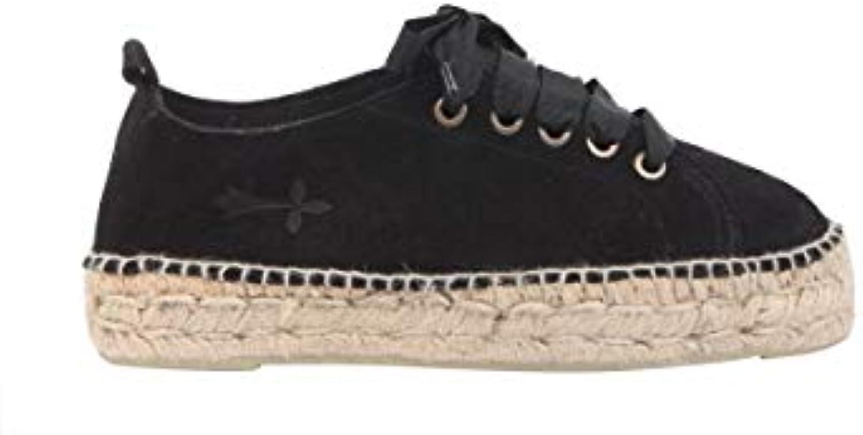Mr.   Ms. MANEBÍ scarpe da ginnastica Donna K10ESUEDEnero Pelle Nero Merci varie Prezzo basso Design professionale   Ben Noto Per Le Sue Belle Qualità    Sig/Sig Ra Scarpa