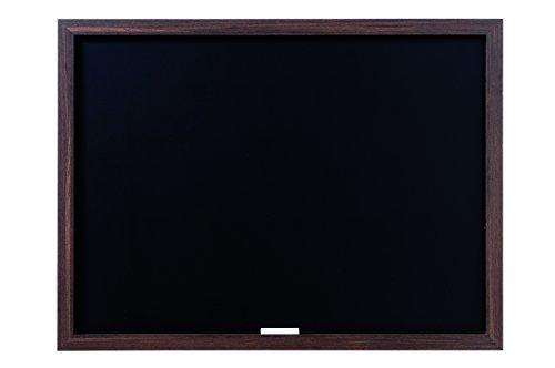 Bi-Silque PM04010819 - Optimum Kreidetafel, MDF Rahmen Schiefer, 64 x 45 cm großer, 22 mm dicker, walnussfarben