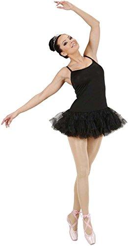 Schwarz Kostüm Ballerina - Widmann 76421 Prima Ballerina Kostüm, Schwarz, Größe S