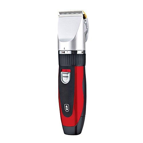 Surker Herren Kinder Elektrischer Profi Haarschneider Set Netz und Akkubetrieb Haarschneidemaschine mit 8 Aufsätzen Bartschneider Haartrimmer für Friseur Salon oder Privaten Gebrauch
