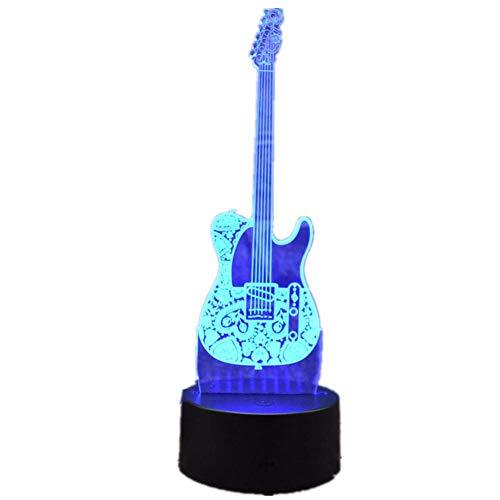 Luz de noche decorativa 3D Creative Night Light 3D LED Moda ...