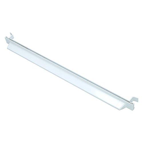 ✧WESSPER® Leiste Schiene Halter Glasplatte vorne Kühlschrank / Gefrierschrank / Kühl-Gefrier-Kombination für Indesit NBAA33NFNXD (Länge: 475mm, Hintere)