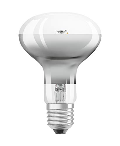 Osram LED-Reflektorlampe| Warm White (2700 K) | Sockel E27 |ersetzt Reflektorlampen mit 48 W | 7,00 W | LED STAR R80 -