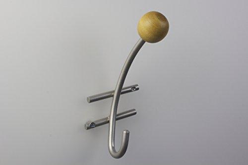 haken-garderobenhaken-kleiderhaken-metall-matt-nickel-mit-holzkugel-in-buche