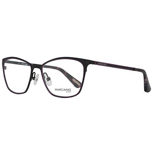 Guess Damen by Marciano Brille Gm0308 52002 Brillengestelle, Schwarz, 52