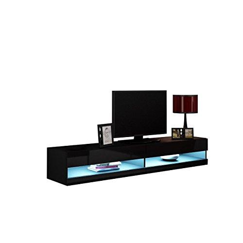 TV-Lowboard-Vigo-New-TV-Tische-TV-Schrank-Fernsehschrank-Hngeschrank-Hochglanz