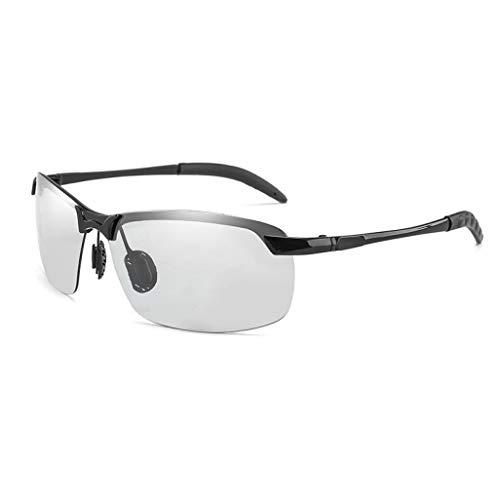 Semi-Rimless Fad Sonnenbrille Männer Frauen Metallrahmen Polarisierte