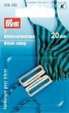 Clip pour bikini métal 20mm argent