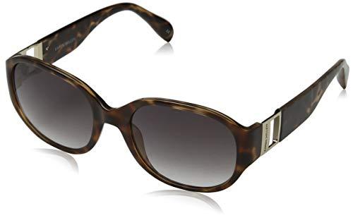 KAREN MILLEN Damen KM Collection Sonnenbrille, Braun (Brown Torf), 55.0