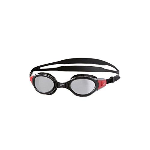 speedo-futura-biofuse-mir-gog-au-occhiali-da-nuoto-nero-rosso-taglia-unica