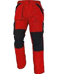 Stenso MAX - Herren Praktisch Arbeitshose Bundhose/Cargohose Baumwolle - viele Farben