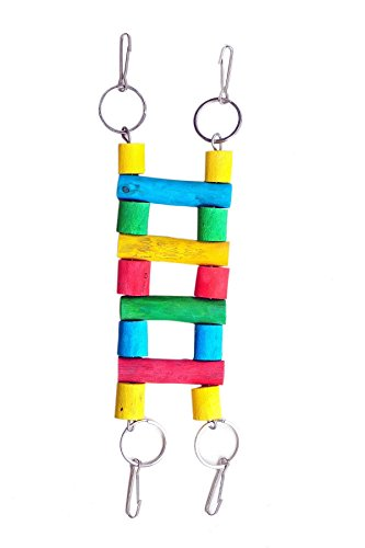 KSK Wooden ladder for Small Size Bird (KSKWL010)  available at amazon for Rs.150