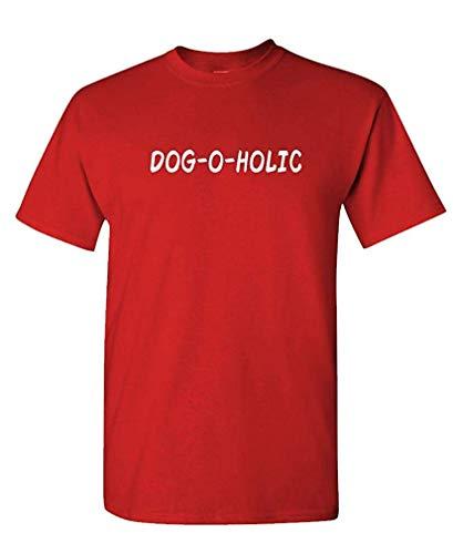 Dog-O-Holic - Canine Dog Party Breed Fun - Mens Cotton T-Shirt L (Aztekische Halloween Kostüm)